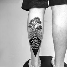 spiritual roots #blackworktattoo