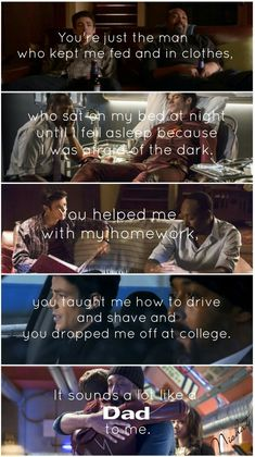 Sounds a lot like Dad to me. #JoeWest and #BarryAllen