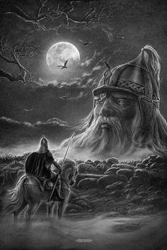 Slavic mythology by Igor Ozhiganov – Slavorum Arte Viking, Viking Art, Viking Life, Viking Warrior, Fantasy Warrior, Fantasy Art, Thor Norse, Viking Tattoo Symbol, Viking Pictures