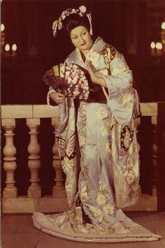 Montserrat Caballe Madame Erfly Opera Singers Clical Music Opi Singing