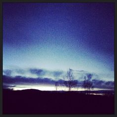 Januar 2014, vinterhimmel ,Jøa,Fosnes