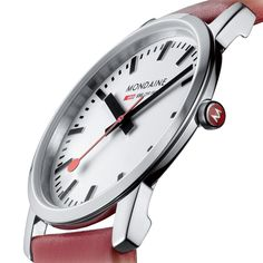 Simply Elegant watch by Mondaine. Available at Dezeen Watch Store: www.dezeenwatchstore.com