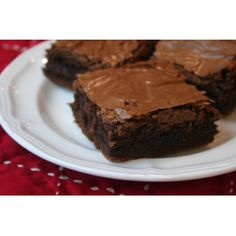 Southern Style Thick and Chewy Brownies