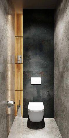 Small bathroom renovations 642748178057696311 - Bellas Art Inspiring Flat «Zu HauseAdore – kleines Badezimmer Source by Bathroom Design Luxury, Modern Bathroom Design, Contemporary Bathrooms, Bathroom Designs, Contemporary Decor, Modern Toilet Design, Bath Design, Bad Inspiration, Bathroom Inspiration