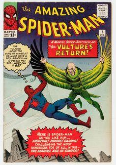 The Amazing Spider-Man #7 (Marvel, 1963)