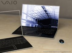 The Vaio Zoom notebook takes everything we know about holographic technology and squeezes it inside a thin glass form factor.