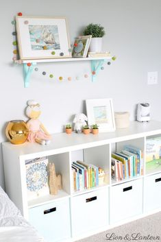 Latest Photographs Latest Pic Genius IKEA Kallax Hacks To Organize Your Entire Home Strategies. Suggestions The IKEA Kallax collection Storage furniture is an important element of any home. They supply obta Kids Room Wall Art, Nursery Wall Decor, Baby Room Decor, Nursery Room, Girl Nursery, Nursery Letters, Boy Decor, Wall Letters Decor, Kids Letters