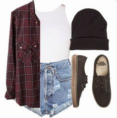 iMyne Fashion: Zappos Appreciation | Brittany Lee. Polyvore. Vintage outfit idea. How to wear black vans. Vans outfit ideas. Vintage 80s look with vans. Spring outfit inspiration. Black Vans. Chic way to wear vans.