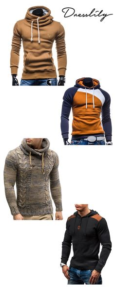 Pull-over à capuche - Diego Sport Mode, Style Masculin, Pullover, Men Looks, Everyday Outfits, Cosplay, Mens Fashion, Couture, Hoodies