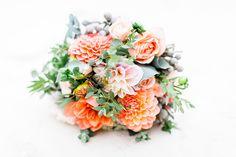 Hochzeitsinspiration in Koralle