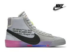 on sale a7ab0 3ea26 2019 Off-White x Nike Blazer The Queen AA3832-002 Sneakers Pas Cher Homme