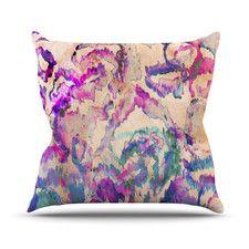 Weirdi Kat Polyester Throw Pillow