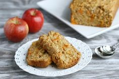 Healthy Apple Oatmeal Bread by The Fit Housewife