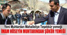 Çubuk İmam Hüseyin Mahallesi Muhtarı Seçmenlerine Şükür Yemeği verdi. www.cubukpost.com