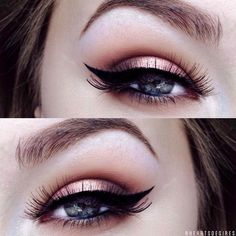 Choosing the right makeup for gray eyes might be a bit challenging. First you need to figure out what shade of gray you have. More tips can be found here.