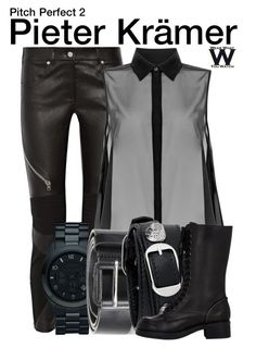 """""""Pitch Perfect 2"""" by wearwhatyouwatch ❤ liked on Polyvore featuring Givenchy, McQ by Alexander McQueen, Michael Kors, Diesel, Balenciaga, Jil Sander Navy, wearwhatyouwatch and film"""
