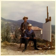 Dorothea Tanning and Max Ernst, Seillans,France, 1973