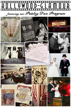 Gracious Bridal Wedding Blog: Old Hollywood Glamour