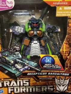 Limited Edition Transformers Decepticon Banzaitron Hunt For The Decepticons #Hasbro #decepticon #transformers #toys #collectibles