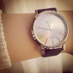 Love ... Calvin klein watch...one day you will be mine