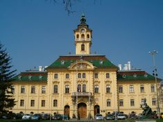 Example of Art Nouveau in Hungary.  1882 Szeged City Hall, designed by Ödön Lechner.