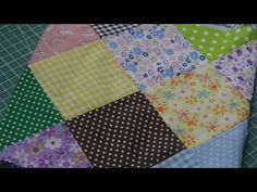 Flor RN encantada - Free Online Videos Best Movies TV shows - Faceclips Sewing Binding, Patchwork Tutorial, Woven Scarves, Barbie, Craft Videos, Basket Weaving, Diy And Crafts, Knitting Patterns, Projects To Try