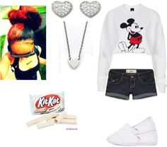 """""""White"""" by tatyalei ❤ liked on Polyvore"""