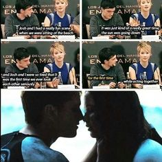 Josh Hutcherson and Jennifer Lawrence Hunger Games Memes, Hunger Games Cast, Hunger Games Fandom, Hunger Games Catching Fire, Hunger Games Trilogy, Katniss Everdeen, Josh Hutcherson, Jennifer Lawrence, Juegos Del Ambre