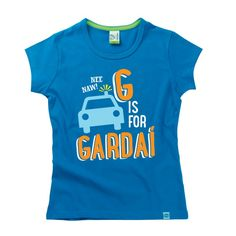 G is for Gardaí Kids Alphabet T-Shirt by Hairy Baby Alphabet For Kids, Colours, Irish, Mens Tops, Baby, T Shirt, Tees, Women, Fashion