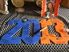 Graduation party. Graduation party idea. Graduation keepsake.