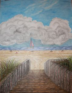 Beachscapes by Denise Crawford