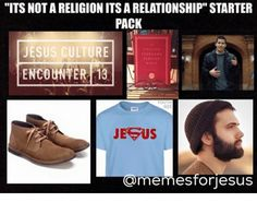 """If you don't mind having a laugh about the unique characteristics our own religion then this collection of memes are for you. This collection will be made up of """"stater pack"""" meme… Funny Christian Memes, Christian Humor, Funny Jesus Memes, Funny Memes, Funny Starter Packs, Jesus Culture, College Humor, Best Memes"""