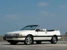 1990 PONTIAC SUNBIRD CONVERTIBLE #pontiac #sunbird #windscreen http://www.windblox.com