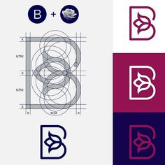 B Logo, Logo Branding, Branding Design, Premium Logo, Flower Phone Wallpaper, Unique Logo, Design Strategy, Business Logo Design, Creative Logo