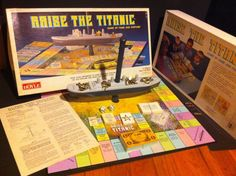 Vintage Raise The Titanic Board Game 100% Complete 1987 With Box & Directions #Hoyt