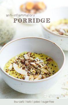 Anti-Inflammatory Keto Porridge | The KetoDiet Blog