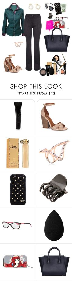 """Untitled #611"" by raphaellyrfl ❤ liked on Polyvore featuring Mary Kay, Katie Rowland, Diane Von Furstenberg, France Luxe, Kate Spade, beautyblender and Disney"