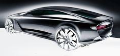 Car design sketches #4 on Behance