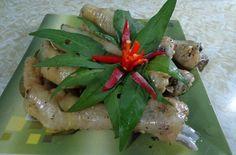 Món nhấm ngon: Chân gà hấp rau răm | Món ngon mỗi ngày | Món ăn ngon | Món ngon Việt Nam