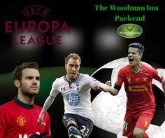 Live Football at the Woody tonight! Liverpool v FC Augsburg Kick Off: 18:00 Man Utd v FC Midtjylland Kick Off: 20:05 Tottenham Hotspur v Fiorentina Kick Off: 20:05 #forestofdean #thewoodmaninn #footy #currynight www.thewoodmanparkend.co.uk