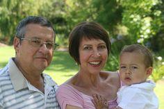 Jakkie en Ina Joubert met Louise se tweede kind - Michael