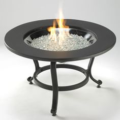 Saturn Gas Fire Pit Table