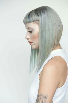 Wella Trend Vision 2015 National Winner Alisha Bashams Creation with Model Cat … - Baby Hair Style Love Hair, Great Hair, Hair Inspo, Hair Inspiration, Medium Hair Styles, Short Hair Styles, Long Hair Models, Mi Long, Hair Dos