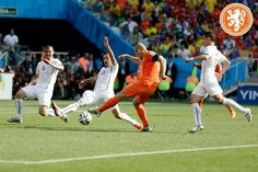 Nederland - Chili 2-0