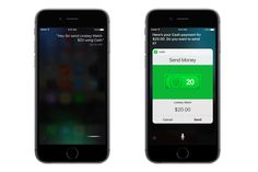 A voice command to Siri will let users send money to people in their iPhone...
