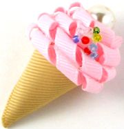 Ice Cream Hair Clip