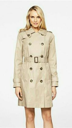 Heidi Classic Double Breasted Trench Coat with Detachable Hood Types Of Coats, Classic Trench Coat, Double Breasted Trench Coat, Work Wardrobe, Outerwear Women, Coats For Women, Raincoat, Macs, How To Wear