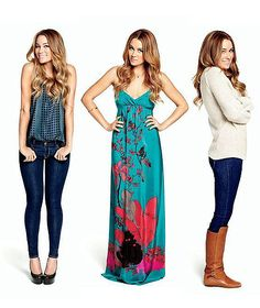 she has the best fashion style... I want her closet!!! p.s. I want her hair too!!!!