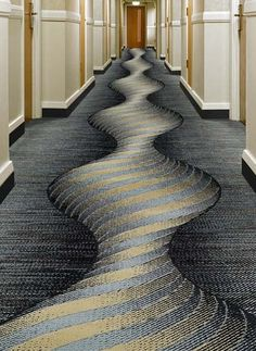 Spend less for top quality Carpet Tile, Carpet, LVT, and Wood Flooring! Our closeout carpet tiles are guaranteed to be first quality. Wall Carpet, Carpet Tiles, Rugs On Carpet, Stair Carpet, Carpet Design, Floor Design, Hotel Corridor, Yellow Carpet, Carpet Colors