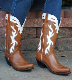 APPALOOSA TWO TONE CLASSIC COWGIRL BOOTS BY OLD WEST LF1520  http://lovethoseboots.com/index.php/appaloosa-two-tone-classic-cowgirl-boots-by-old-west-lf1520.html